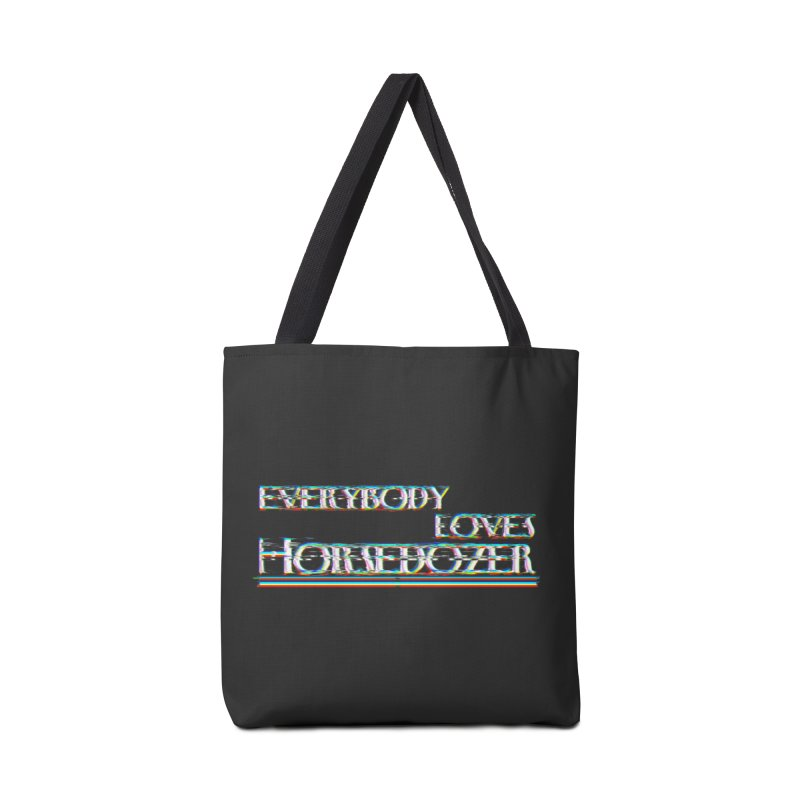 EVERYBODY LOVES HORSEDOZER Accessories Bag by HORSEDOZER
