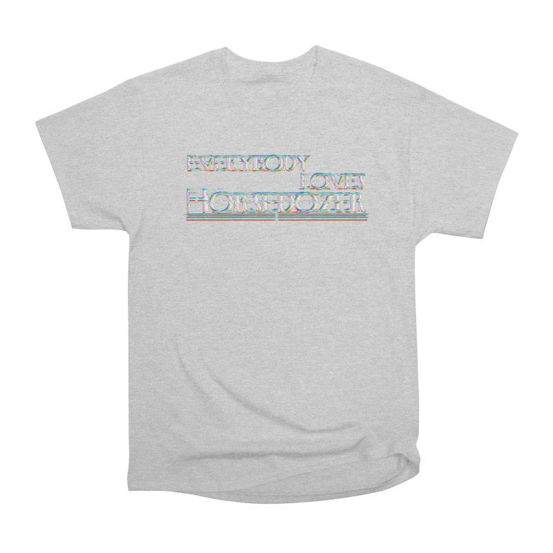 EVERYBODY LOVES HORSEDOZER (SS/21) Men's T-Shirt by HORSEDOZER