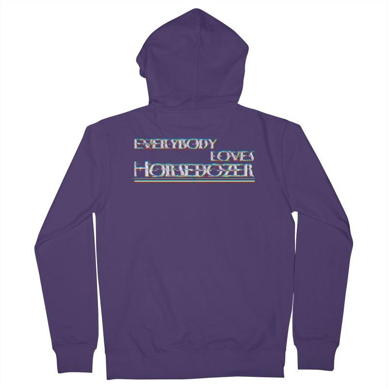 EVERYBODY LOVES HORSEDOZER (SS/21) Women's Zip-Up Hoody by HORSEDOZER