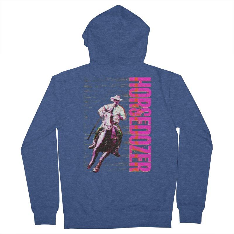 HORSEDOZER PRETTY COWBOYWAVE (SS/21) Women's Zip-Up Hoody by HORSEDOZER