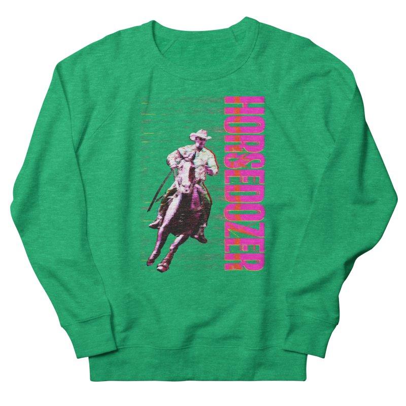 HORSEDOZER PRETTY COWBOYWAVE Women's Sweatshirt by HORSEDOZER