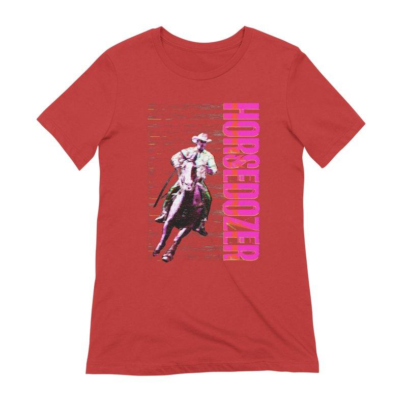 HORSEDOZER PRETTY COWBOYWAVE (SS/21) Women's T-Shirt by HORSEDOZER