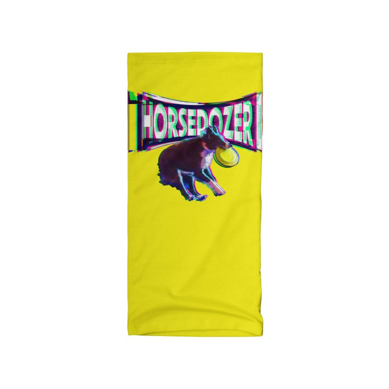HORSEDOZER FRIZBEEWAVE (SS/21) Accessories Neck Gaiter by HORSEDOZER