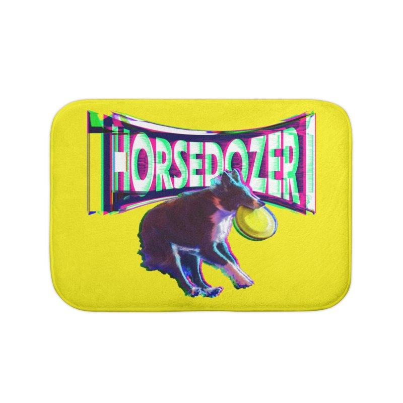 HORSEDOZER FRIZBEEWAVE (SS/21) Home Bath Mat by HORSEDOZER