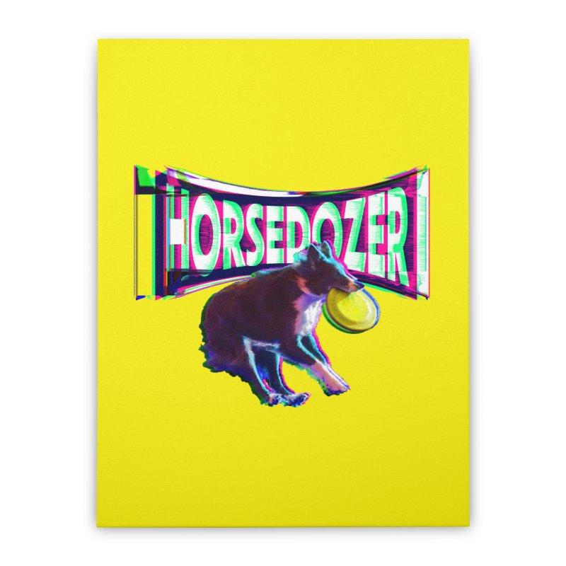 HORSEDOZER FRIZBEEWAVE (SS/21) Home Stretched Canvas by HORSEDOZER