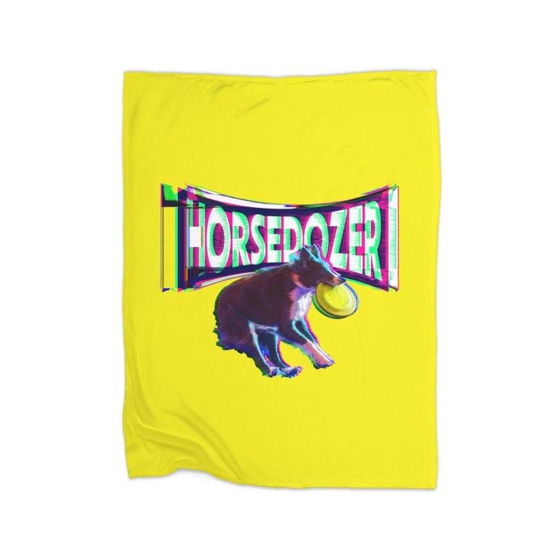 HORSEDOZER FRIZBEEWAVE (SS/21) Home Blanket by HORSEDOZER