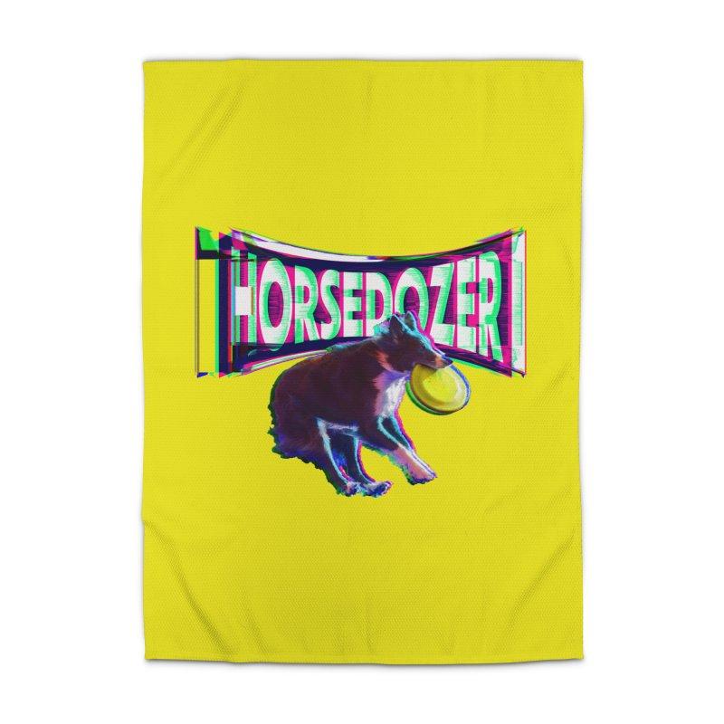 HORSEDOZER FRIZBEEWAVE (SS/21) Home Rug by HORSEDOZER