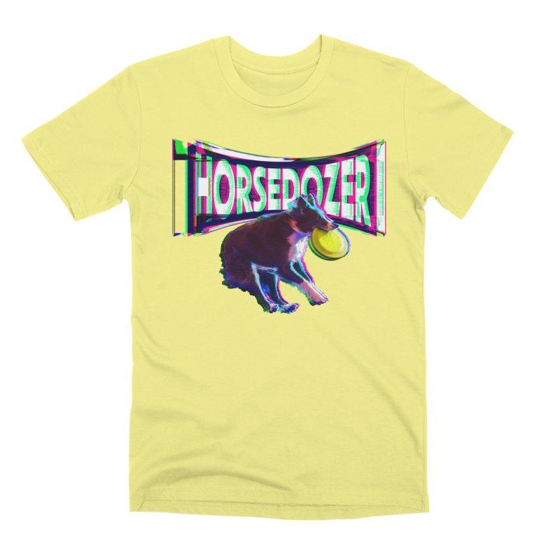 HORSEDOZER FRIZBEEWAVE (SS/21) Men's T-Shirt by HORSEDOZER