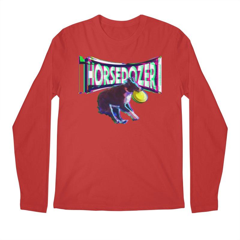 HORSEDOZER FRIZBEEWAVE (SS/21) Men's Longsleeve T-Shirt by HORSEDOZER