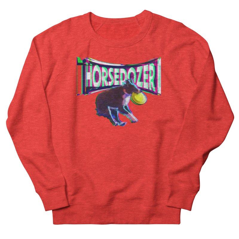 HORSEDOZER FRIZBEEWAVE (SS/21) Women's Sweatshirt by HORSEDOZER