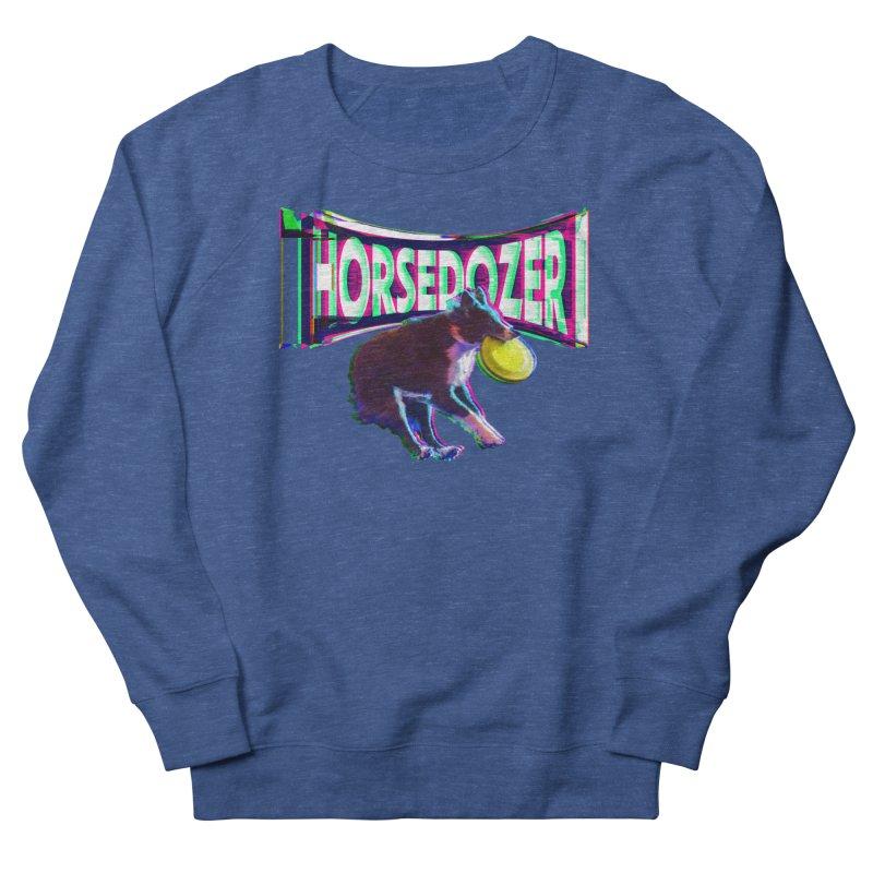 HORSEDOZER FRIZBEEWAVE Men's Sweatshirt by HORSEDOZER