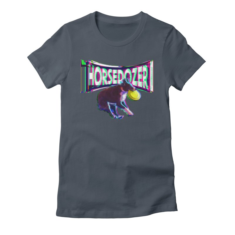 HORSEDOZER FRIZBEEWAVE (SS/21) Women's T-Shirt by HORSEDOZER