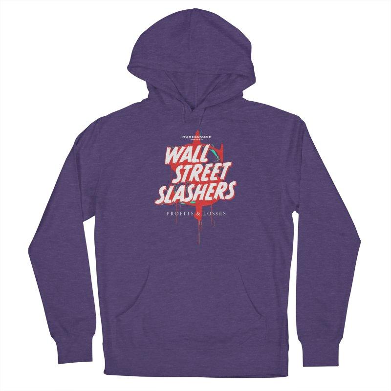 HORSEDOZER PRESENTS WALL STREET SLASHERS (SS/21) Women's Pullover Hoody by HORSEDOZER