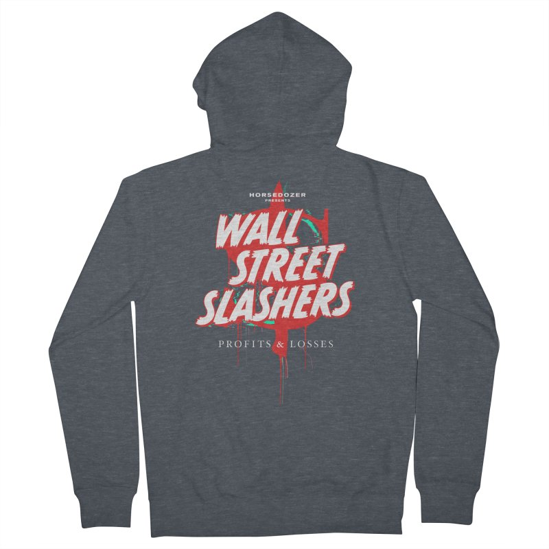 HORSEDOZER PRESENTS WALL STREET SLASHERS (SS/21) Women's Zip-Up Hoody by HORSEDOZER