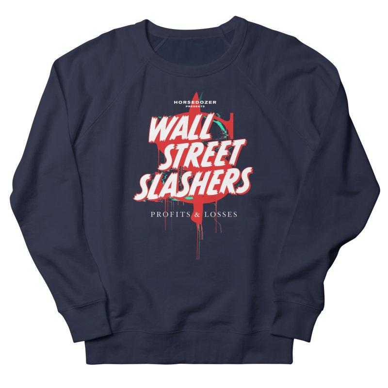 HORSEDOZER PRESENTS WALL STREET SLASHERS (SS/21) Women's Sweatshirt by HORSEDOZER