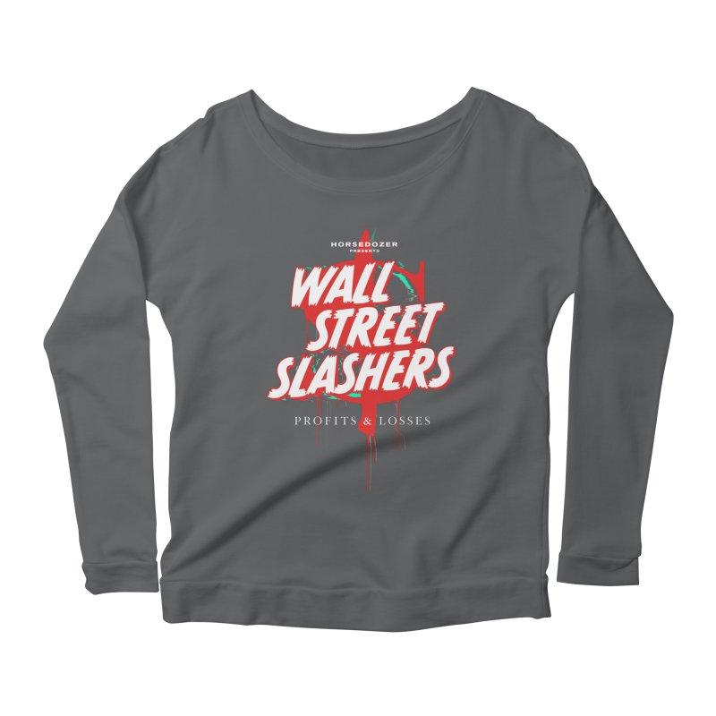 HORSEDOZER PRESENTS WALL STREET SLASHERS (SS/21) Women's Longsleeve T-Shirt by HORSEDOZER