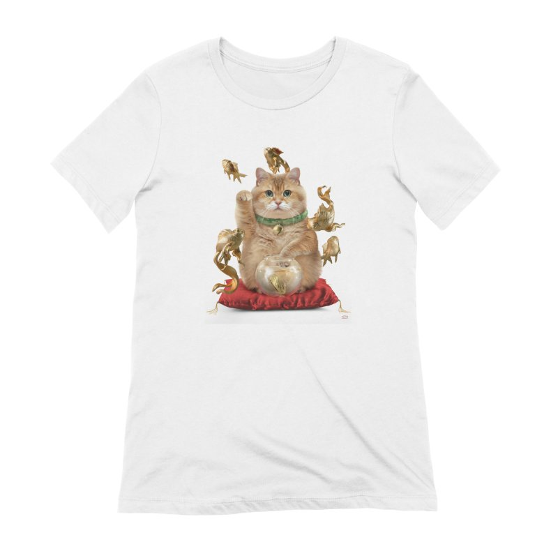 Hosico Maneki-neko Women's T-Shirt by Hosico's Shop