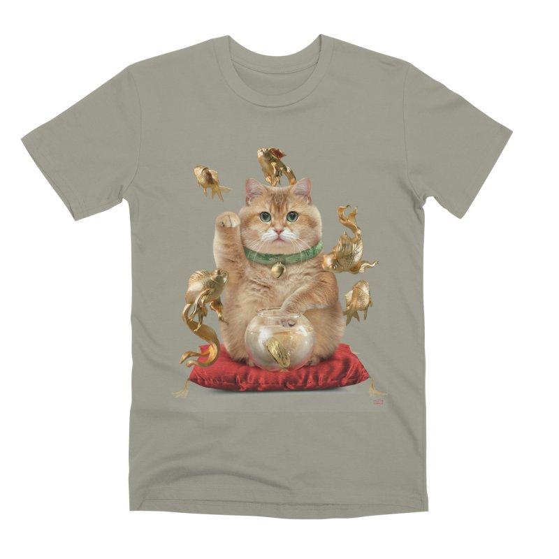 Hosico Maneki-neko Men's Premium T-Shirt by Hosico's Shop