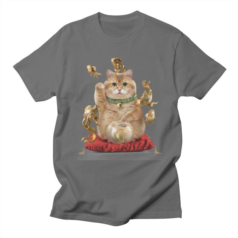 Hosico Maneki-neko Men's T-Shirt by Hosico's Shop
