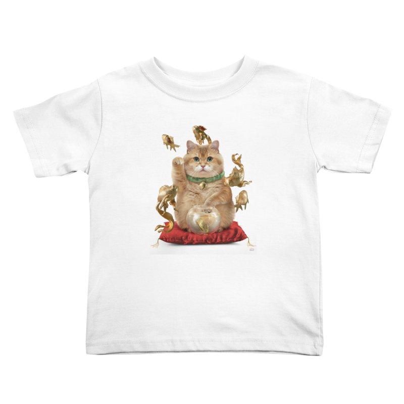 Hosico Maneki-neko Kids Toddler T-Shirt by Hosico's Shop