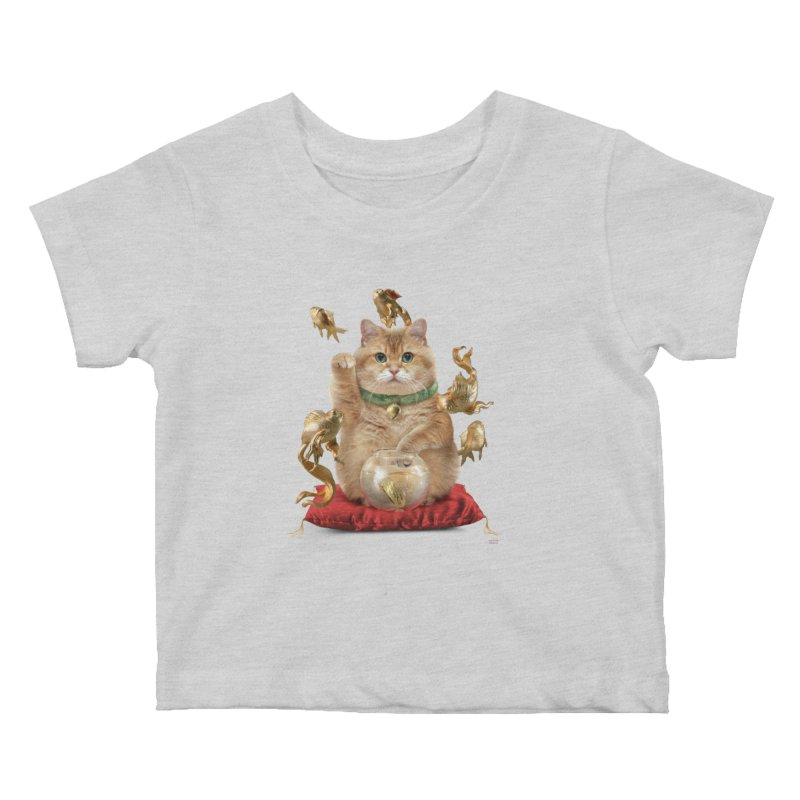 Hosico Maneki-neko Kids Baby T-Shirt by Hosico's Shop