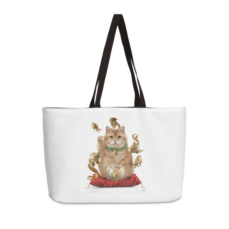 Hosico Maneki-neko Accessories Weekender Bag Bag by Hosico's Shop