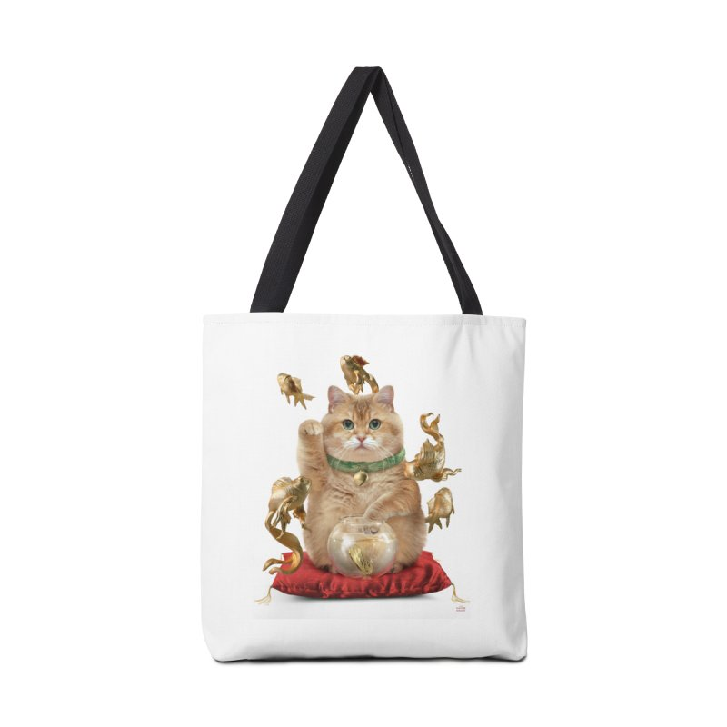 Hosico Maneki-neko Accessories Tote Bag Bag by Hosico's Shop