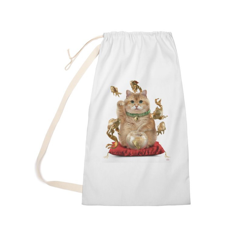 Hosico Maneki-neko Accessories Laundry Bag Bag by Hosico's Shop