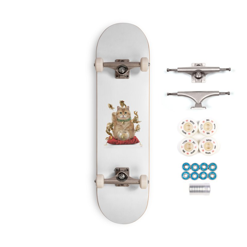 Hosico Maneki-neko Accessories Complete - Premium Skateboard by Hosico's Shop