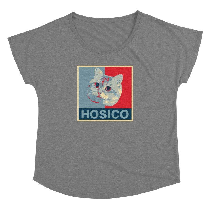 HOSICO Women's Dolman Scoop Neck by Hosico's Shop