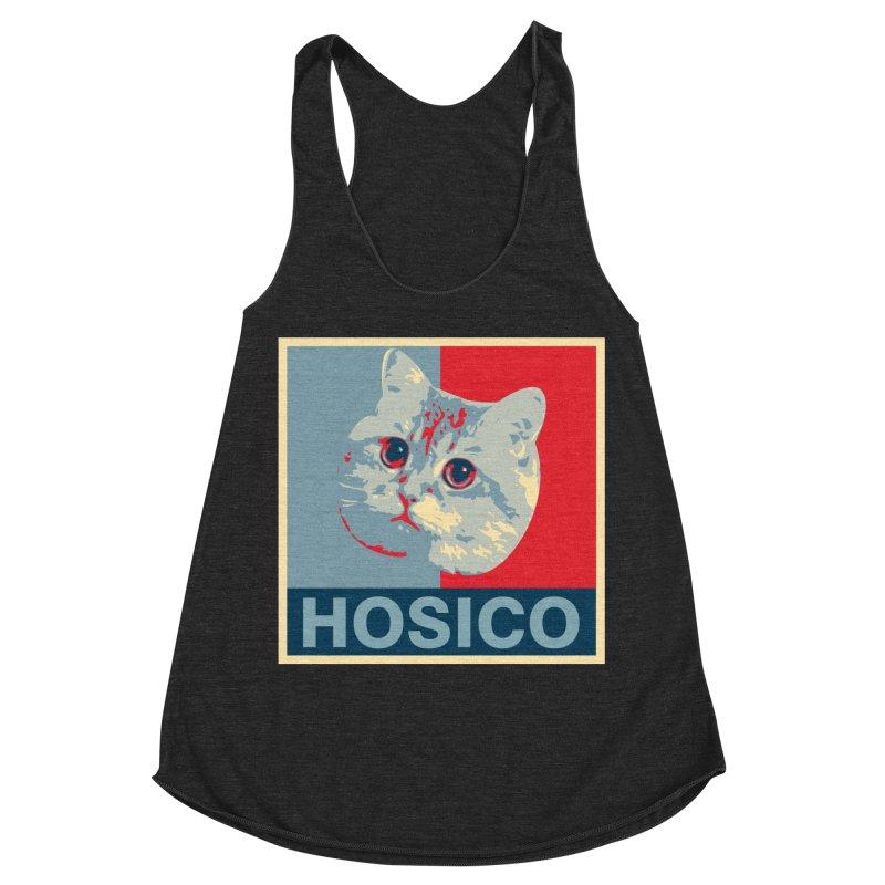 HOSICO Women's Racerback Triblend Tank by Hosico's Shop