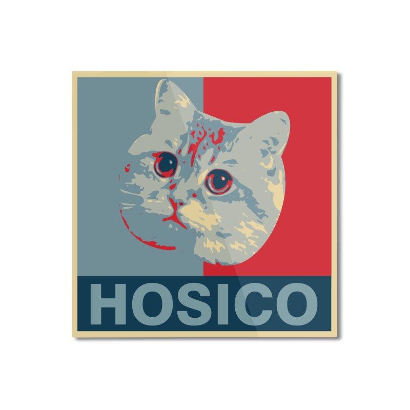 HOSICO Home Mounted Aluminum Print by Hosico's Shop