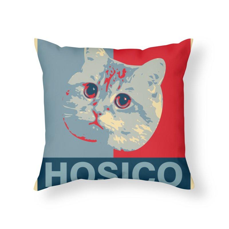 HOSICO Home Throw Pillow by Hosico's Shop