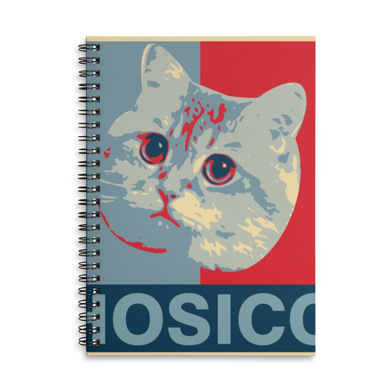 HOSICO Accessories Lined Spiral Notebook by Hosico's Shop