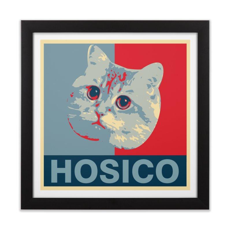 HOSICO Home Framed Fine Art Print by Hosico's Shop