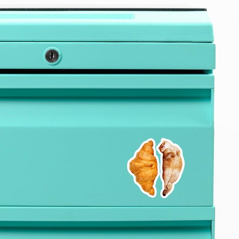 Croissant Accessories Magnet by Hosico's Shop