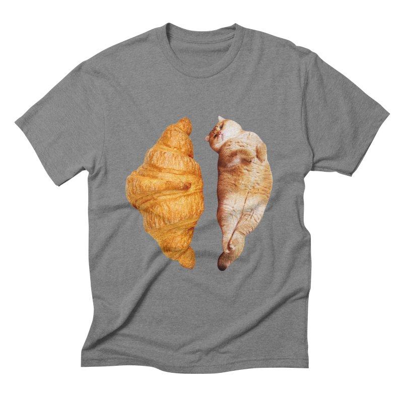 Croissant Men's T-Shirt by Hosico's Shop