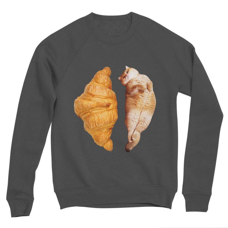 Croissant Men's Sweatshirt by Hosico's Shop