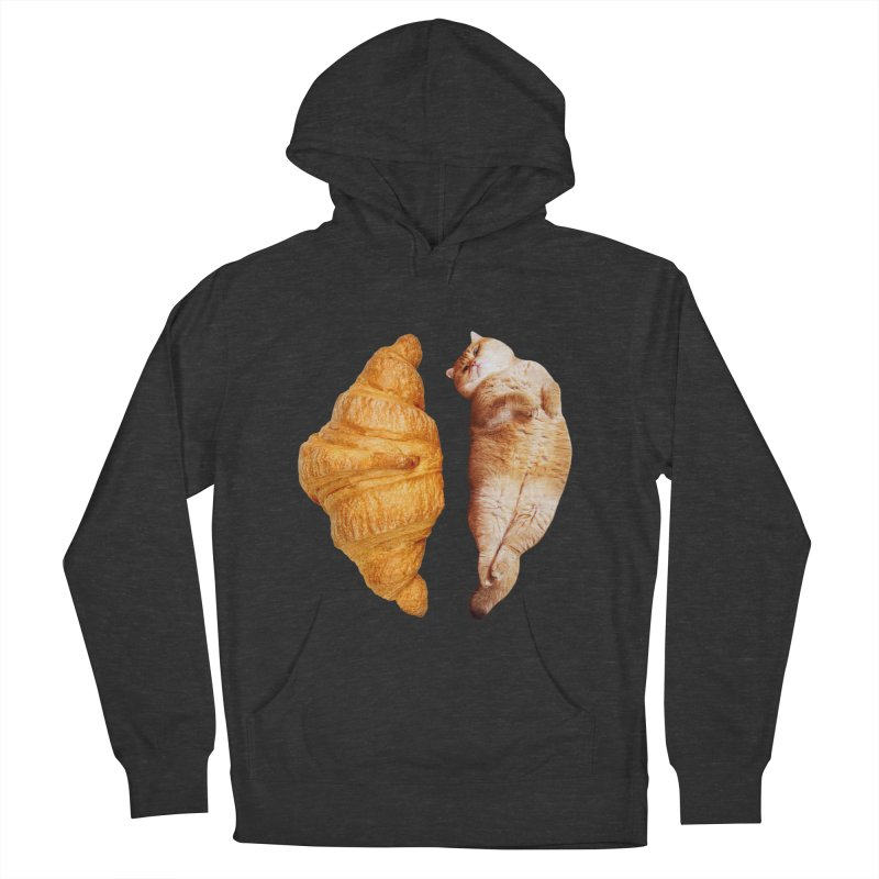 Croissant Women's French Terry Pullover Hoody by Hosico's Shop