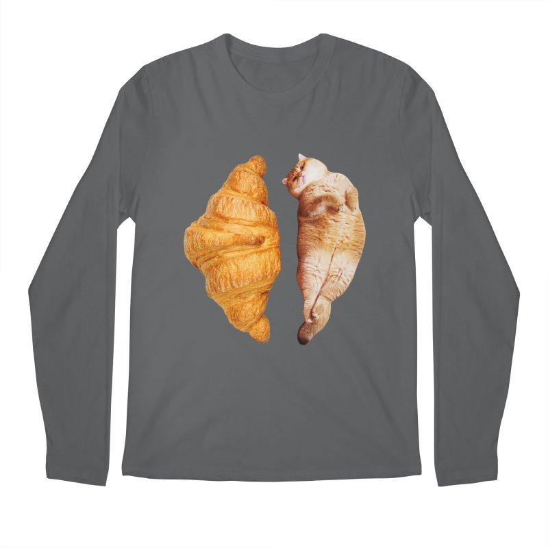 Croissant Men's Longsleeve T-Shirt by Hosico's Shop