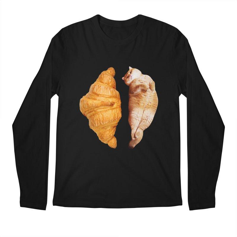 Croissant Men's Regular Longsleeve T-Shirt by Hosico's Shop