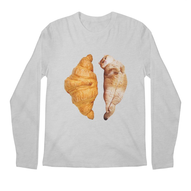Croissant Men's Regular Longsleeve T-Shirt by Hosico's Shop