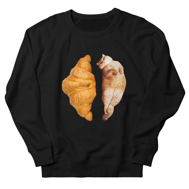 Croissant Women's French Terry Sweatshirt by Hosico's Shop