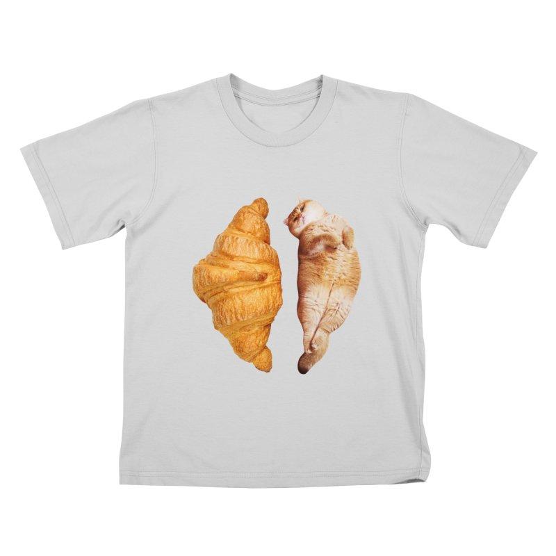 Croissant Kids T-Shirt by Hosico's Shop