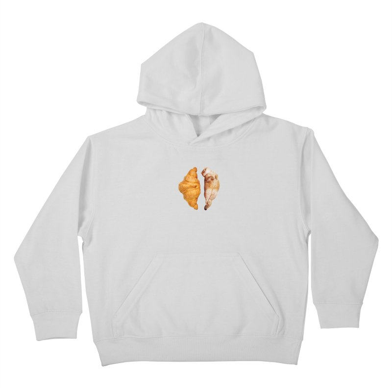 Croissant Kids Pullover Hoody by Hosico's Shop