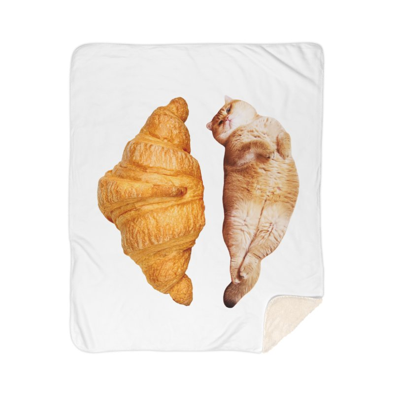 Croissant Home Blanket by Hosico's Shop