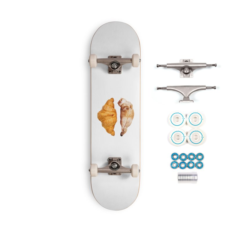 Croissant Accessories Skateboard by Hosico's Shop