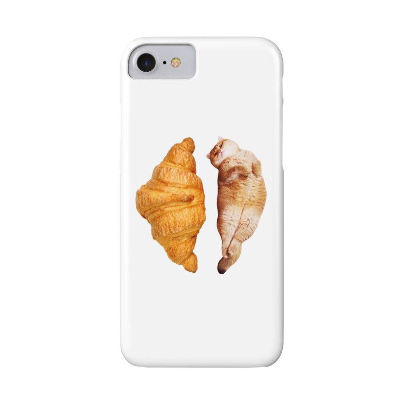 Croissant Accessories Phone Case by Hosico's Shop