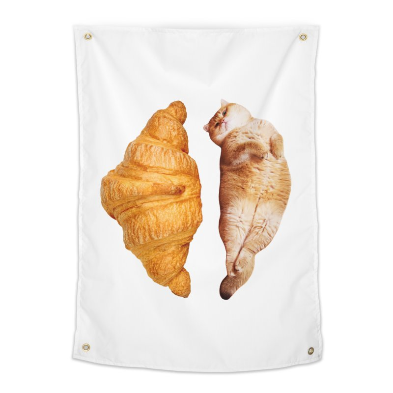 Croissant Home Tapestry by Hosico's Shop