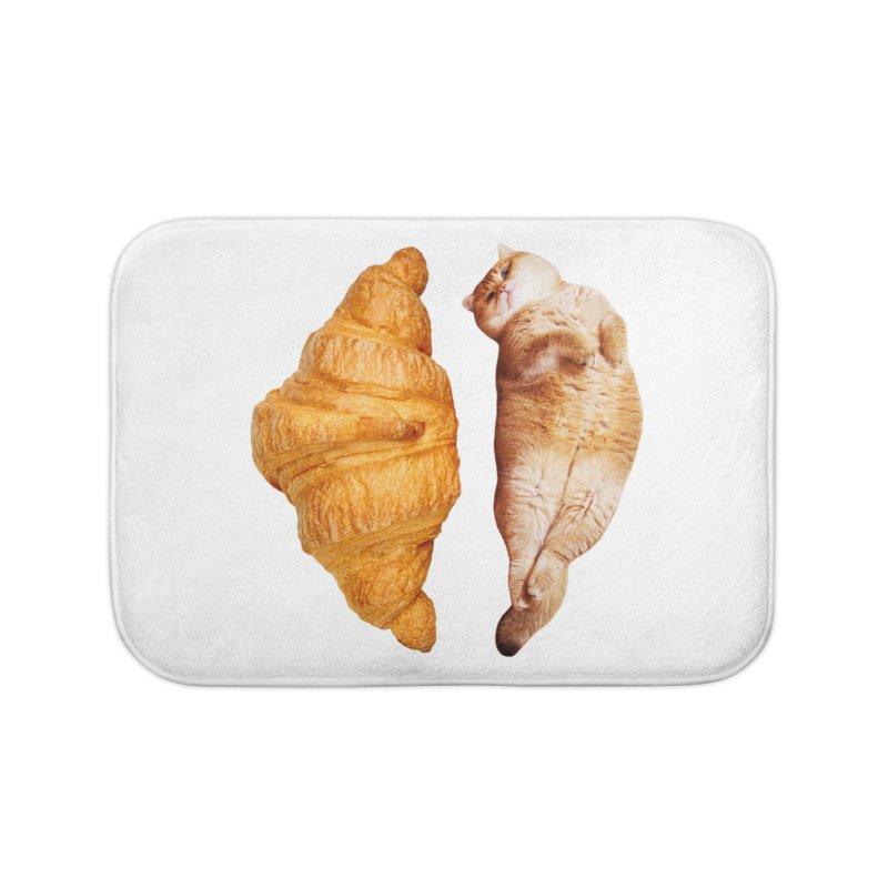 Croissant Home Bath Mat by Hosico's Shop